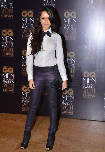Shraddha Kapoor at GQ Award - Shraddha Kapoor at GQ Men of the Year 2011 Awards