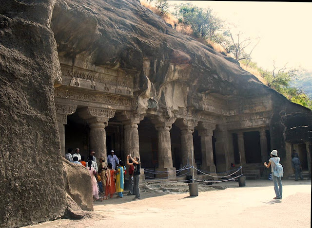 Buddhist art at Ajanta caves