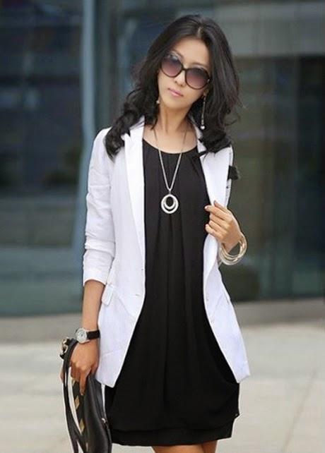 Vestido Corto Informal de Seda