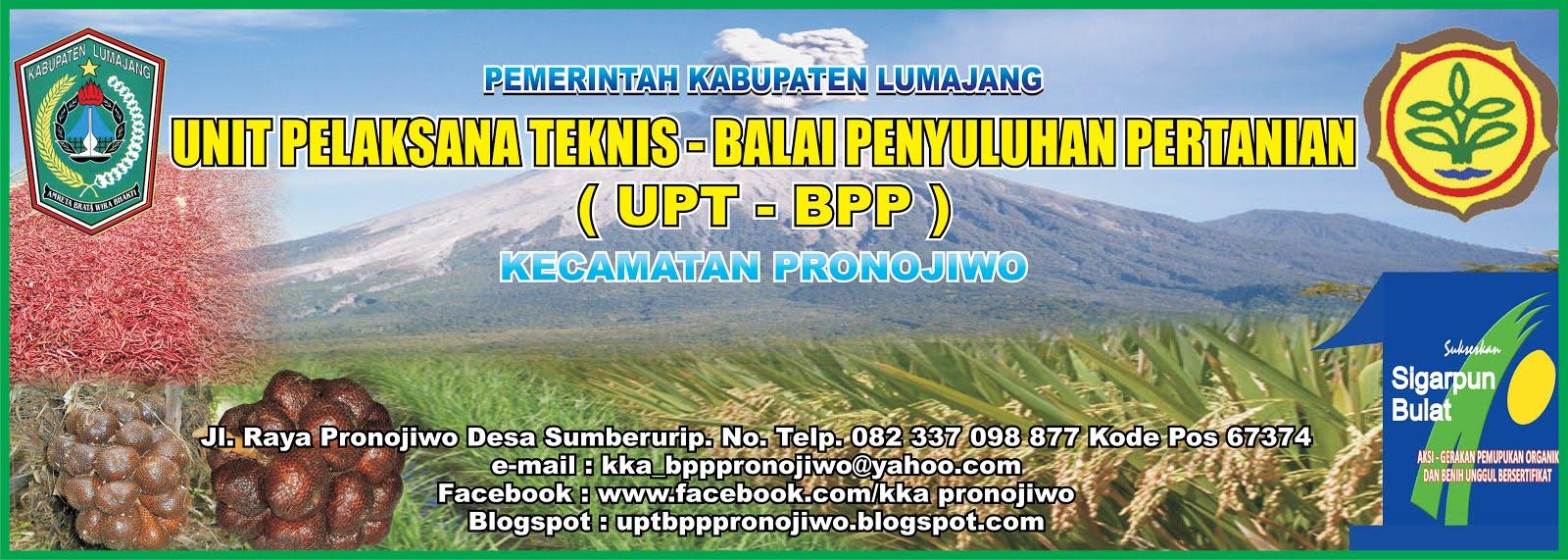 UPT-BPP PRONOJIWO