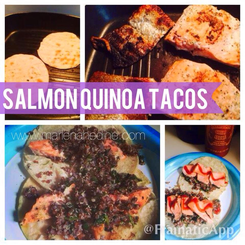 21 day fix dinner, salmon tacos, healthy dinner recipe, clean eating,