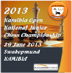 2013 NAMIBIA OPEN NATIONAL JUNIOR CHESS CHAMPIONSHIP (Swakopmund)