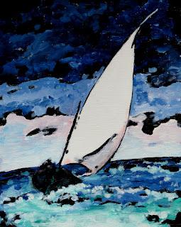 sailing | painting | bruce docker