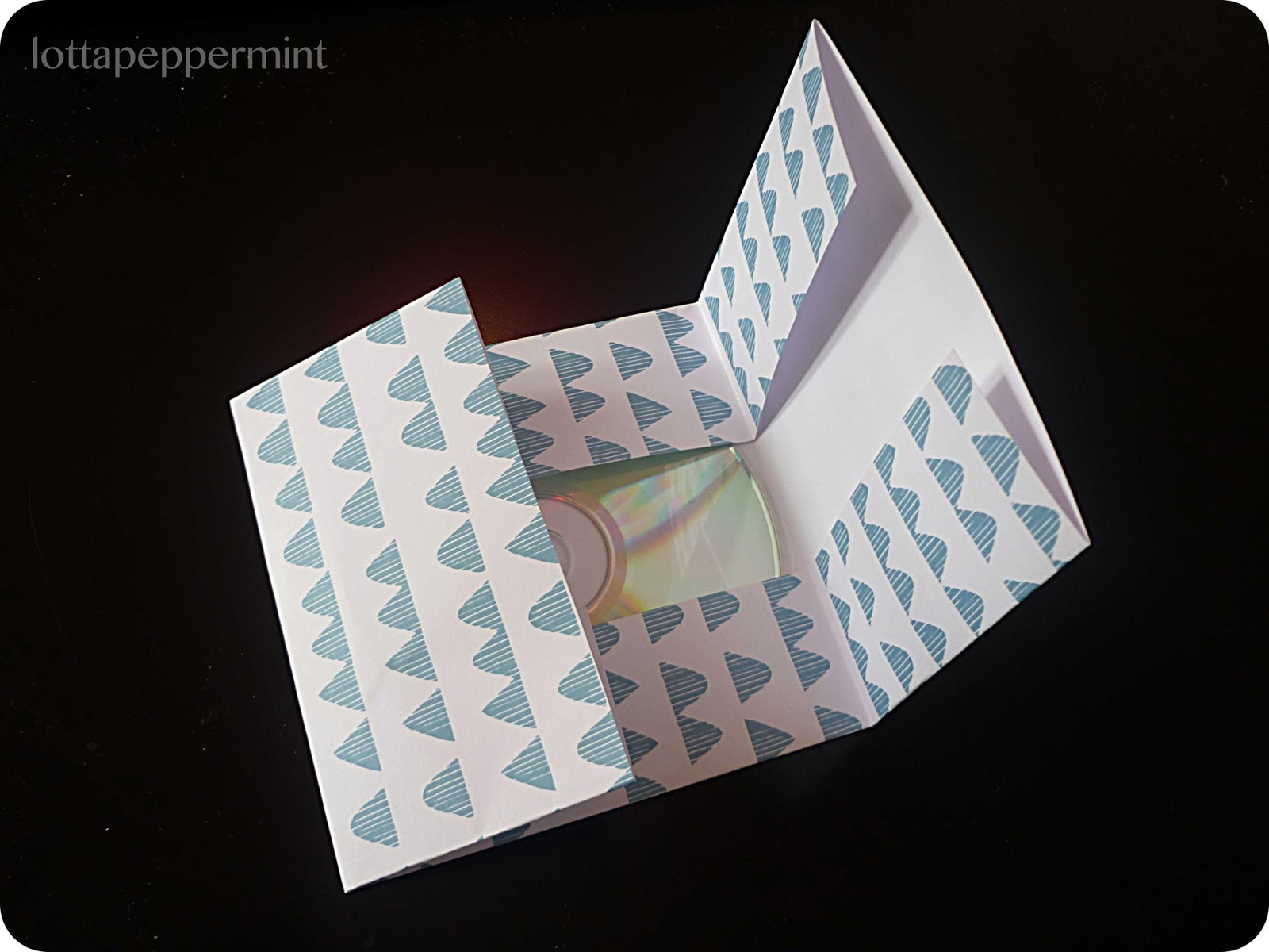 lottapeppermint easypeasy cd h llen basteln. Black Bedroom Furniture Sets. Home Design Ideas
