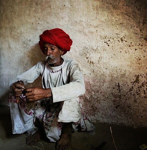 Man in Narlai © Connie Gardner Rosenthal