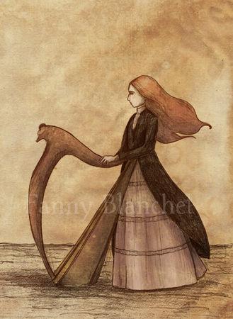 cordes harpe celtique