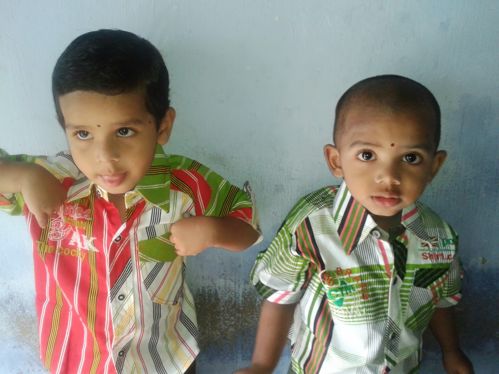 My Son (Thammudu) Chitu (Satya Satwika Sharma) Birthday @ 26.07.2013