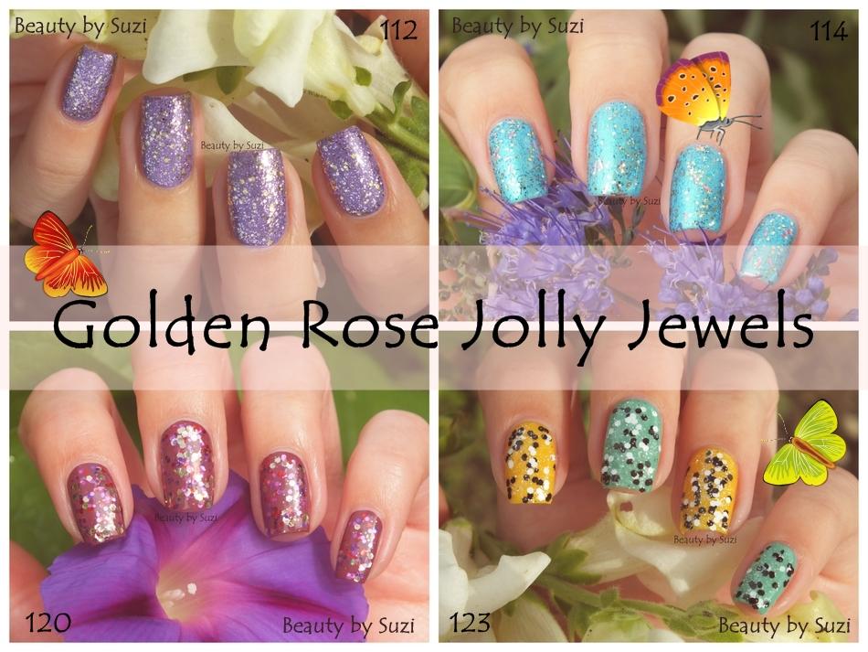 Golden Rose Jolly Jewels (112, 114, 120 & 123)