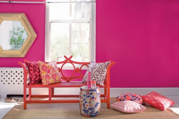 Beautiful Pink Living Room Design 2014 | Exclusive Home Design Ideas