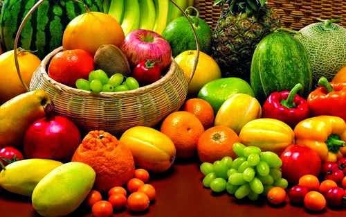 Frutas en los sueños