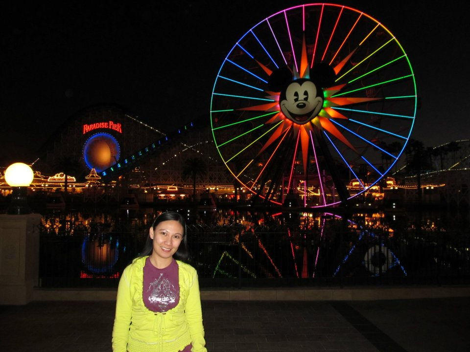 Disney California Adventure Mickey's Fun Wheel