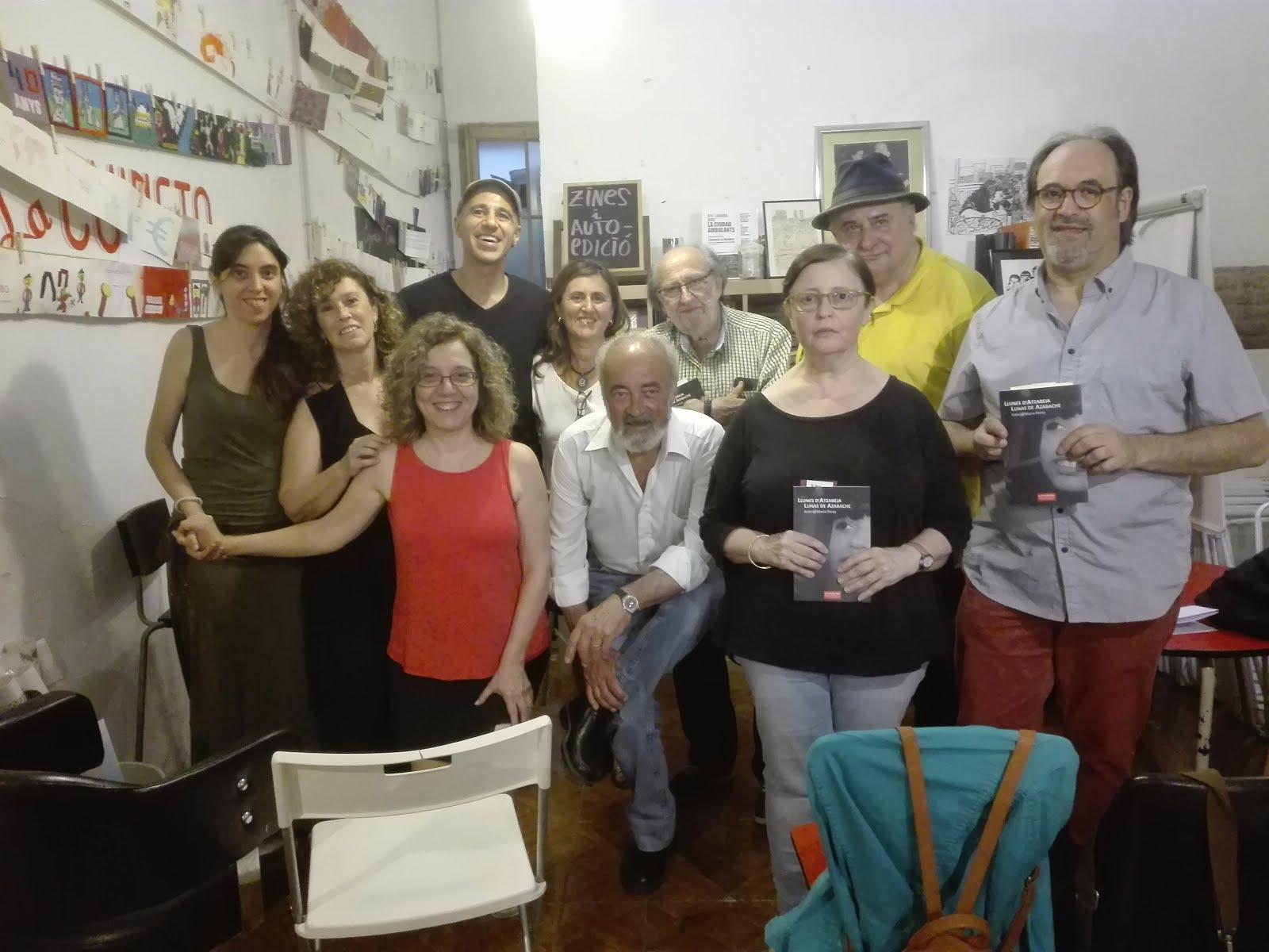 """Presentació """"Llunes d'atzabeja"""" - La Caníbal - 20.06.18"""