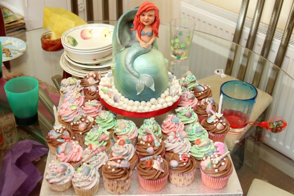 Little Mermaid Birthday Cake For My Niece