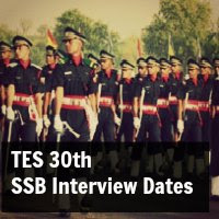 tes 30 ssb interview dates