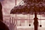 Až budu šťastný, dívka u okna s lampou