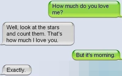 funny romantic text messages