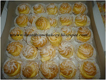 Mini Cream Puff - RM25 per box (36 pcs)