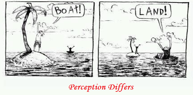 ME & MY THOUGHTS: 305. Perception Differs!!!!!!