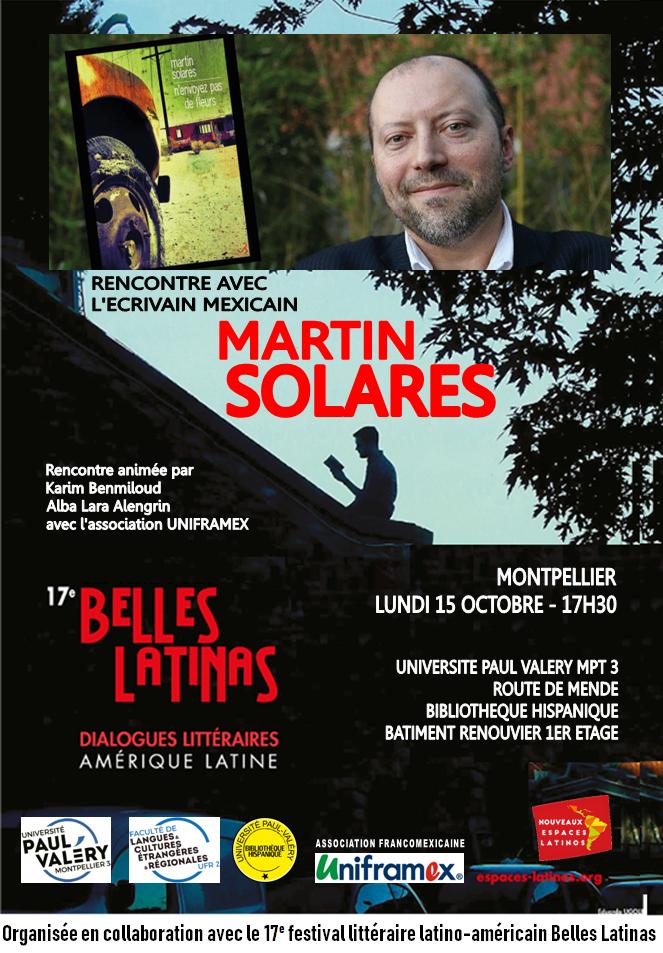 Rencontre littéraire avec Martin Solares