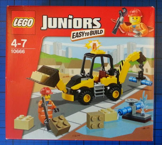 LEGO Juniors Digger set 10666 review box front