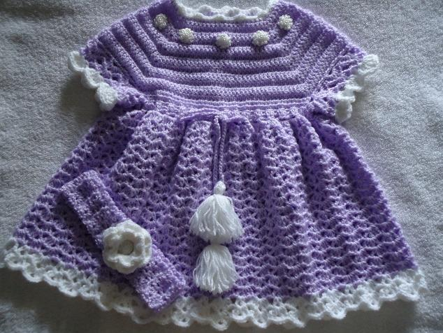 Baby Dress Up Purple Baby Dresses