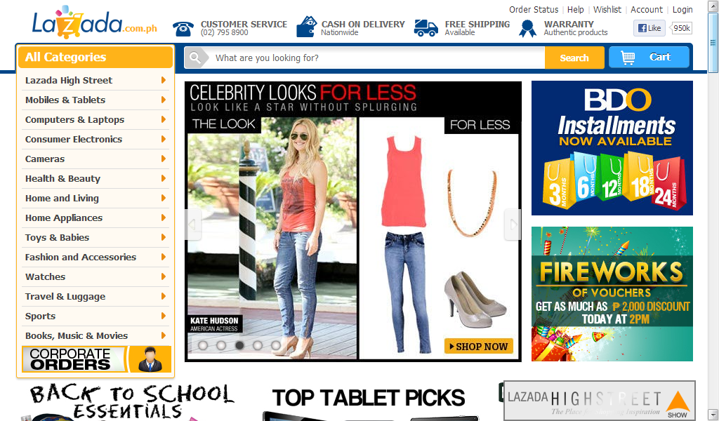 Online shopping in philippines