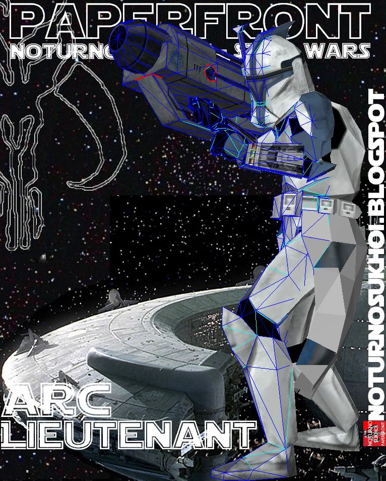 ARC Lieutenant Papercraft