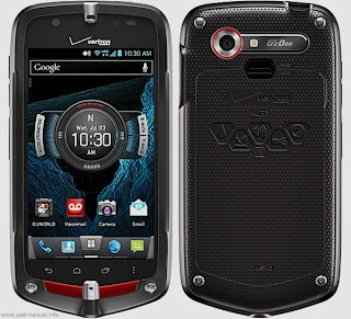 Casio G'zOne Commando 4G LTE user manual for Verizon Wireless