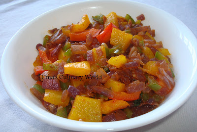 Stir-fry Bell Peppers
