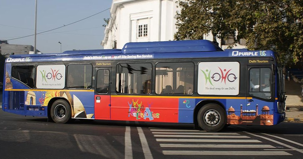 Hoho Bus For Sightseeing In Delhi Insight India A