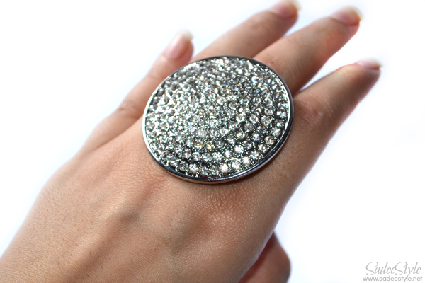 Diamante Big Round Ring