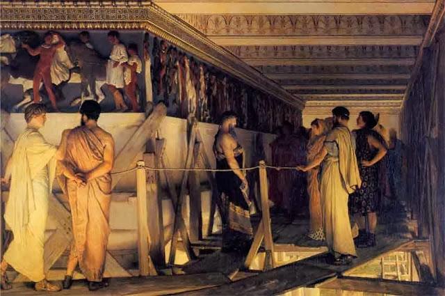 pintura neoclasica partenon