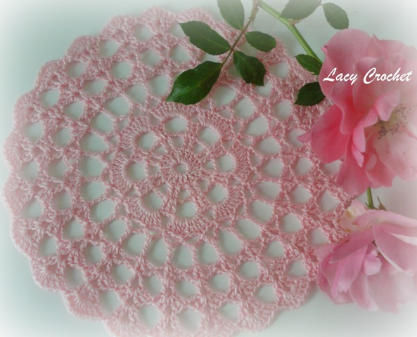 Free Crochet Patterns For Mini Doilies : Lacy Crochet: Mini Doily Symbol Chart