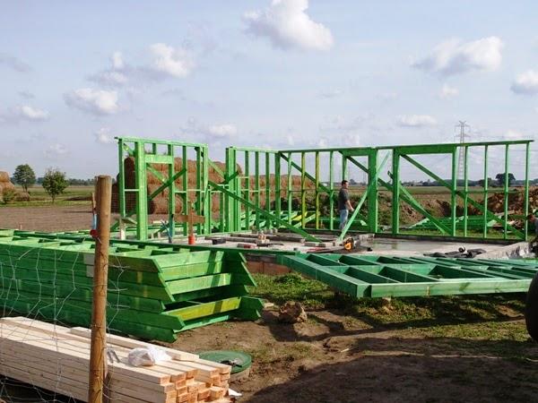 dom szkieletowy, szkielet, drewniany z fabryki