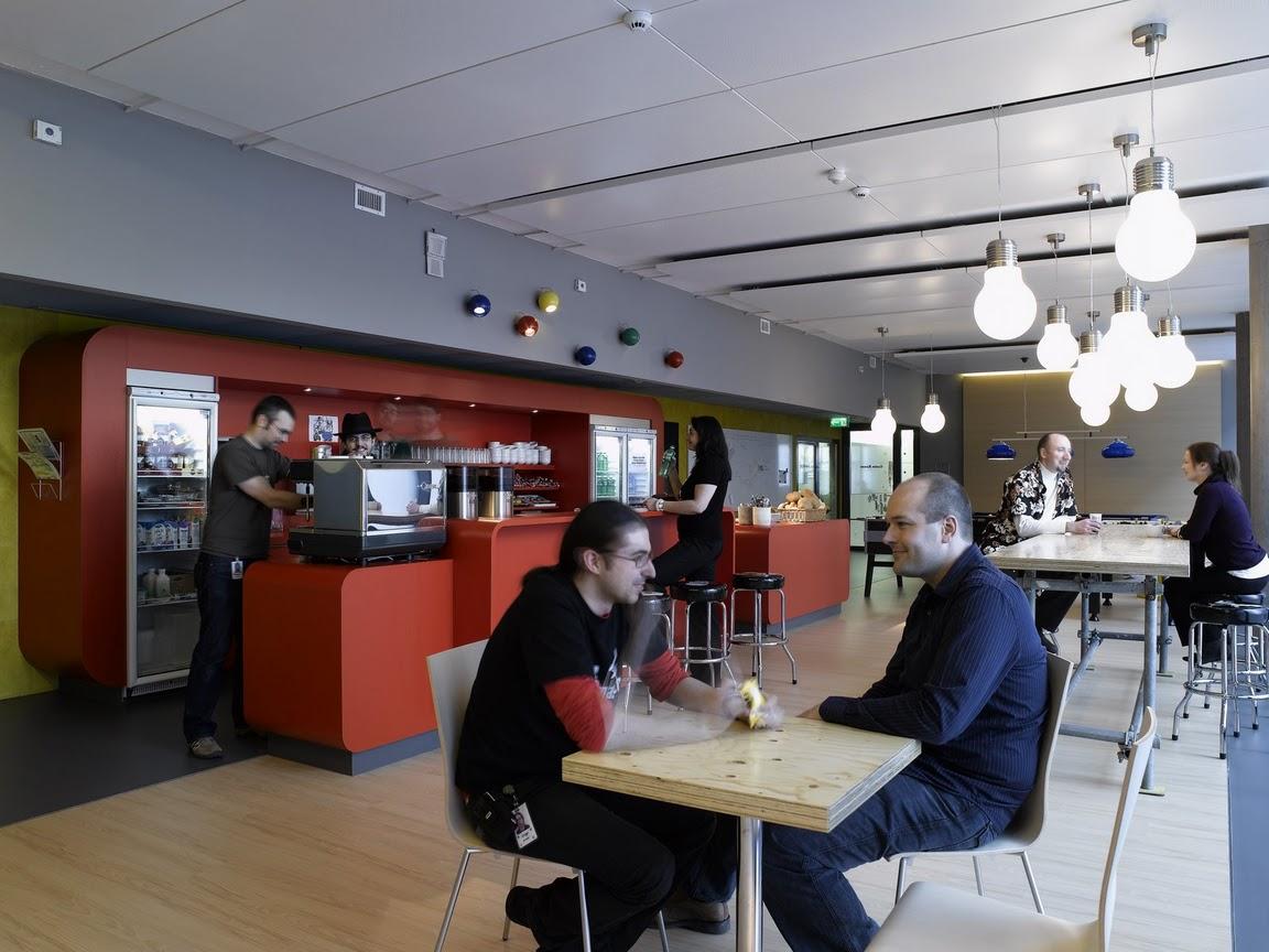 Unbelievable offices Google office in Zurich azee