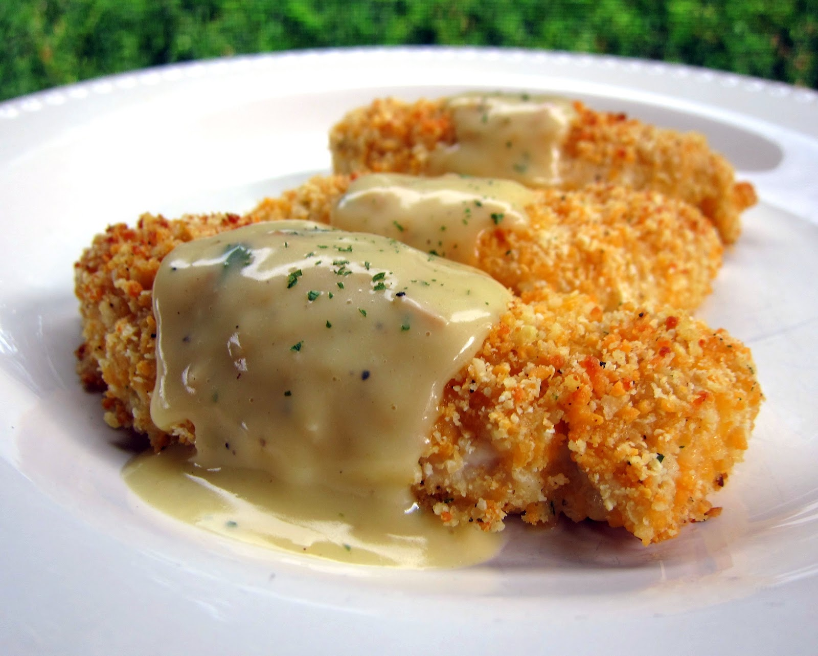 Crispy Cheddar Chicken Tenders Recipe - chicken tenders coated in ...
