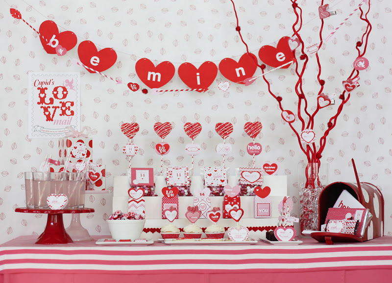 kara's party ideas cupid's post office- valentine's day party, Ideas