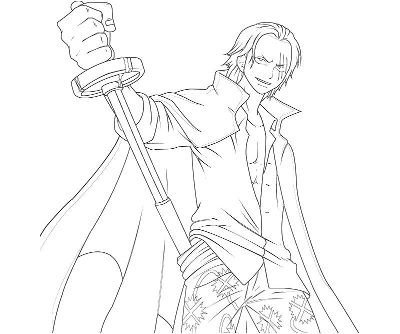One Piece Coloring Pages http://377704497.blogspot.com/2012/11/one-piece-shanks-sword.html