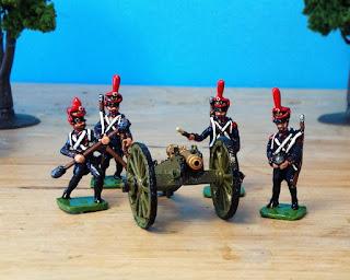 Der Kriegspielers DK 22: French Line Artillery, 1809