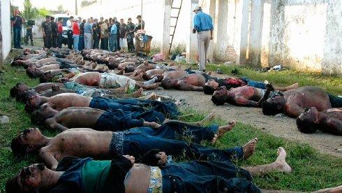 Foto-foto Korban Kebakaran Penjara Di Comayagua, Honduras [ www.BlogApaAja.com ]