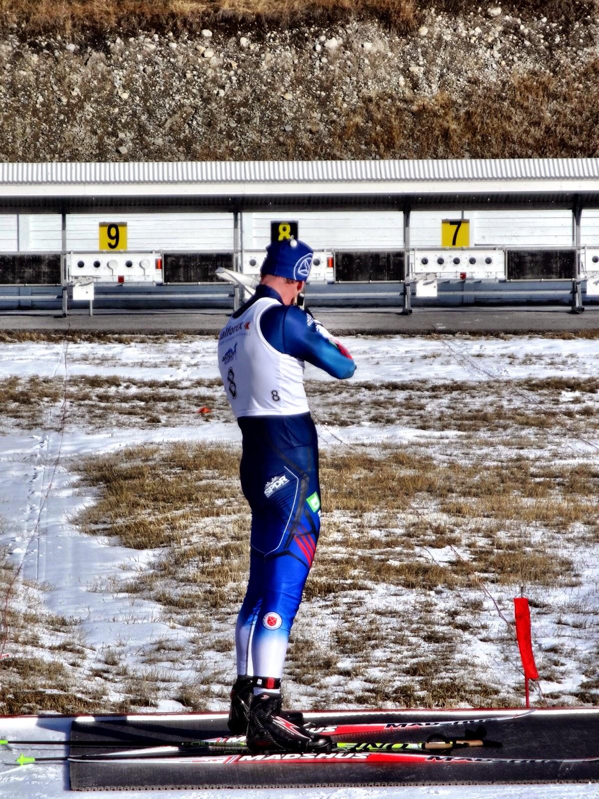 Casey Smith Biathlon IBU trials
