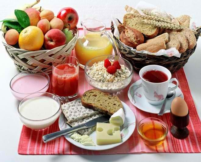 Very healthy breakfast