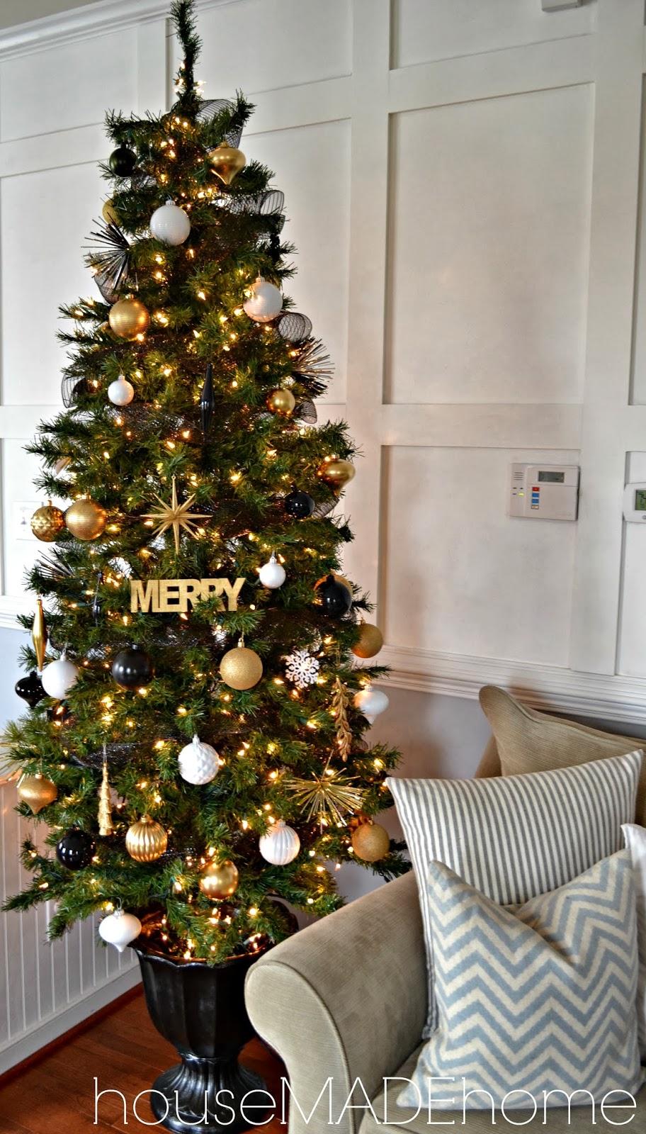 HMH Designs: A Modern Glam Christmas Home Tour