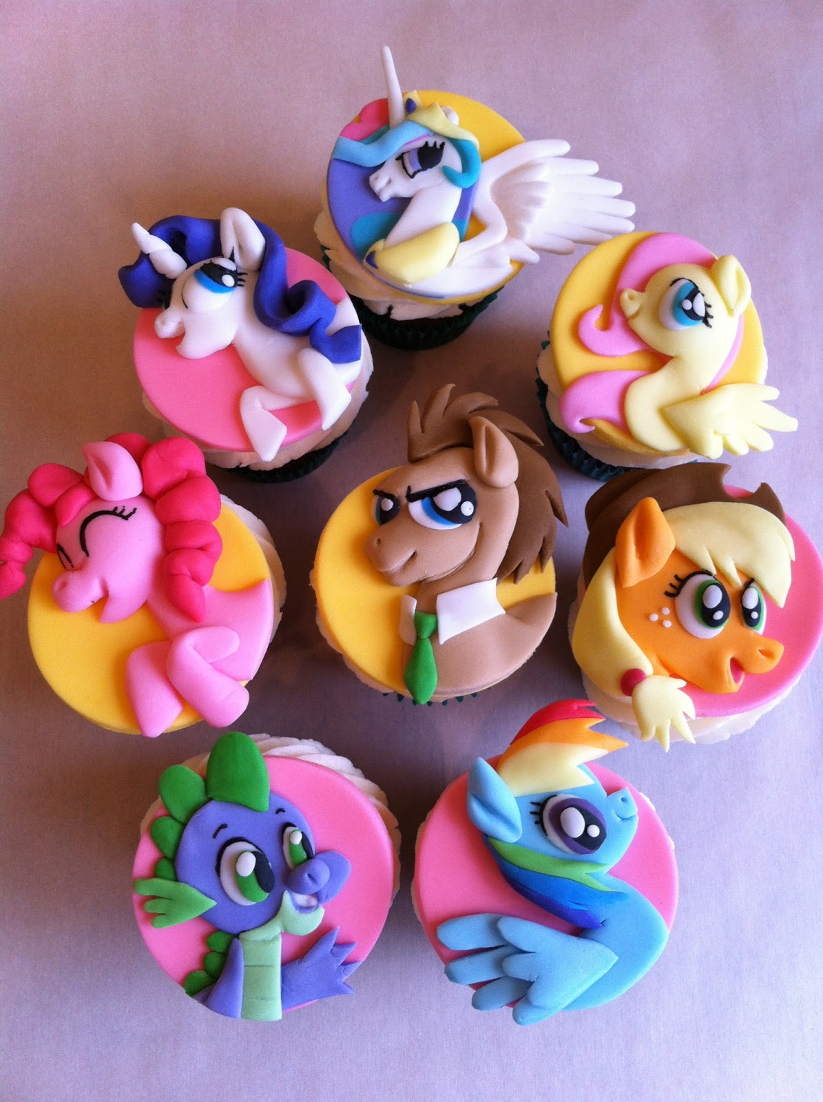 The Incredible Stuffs: Awesome My LIttle Pony Cupcakes