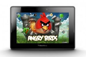 El ya famoso juego Angry Birds que hace poco tuvo su lanzamiento en la BlackBerry PlayBook ahora recibe su primera actualización que es la 1.6.3.1 en la versión HD. Esta aplicación tiene un precio de $4.99USD DESCARGA OTA (APP WORLD)