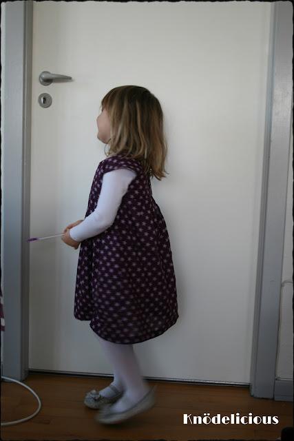 Geranium dress. Knödelicious