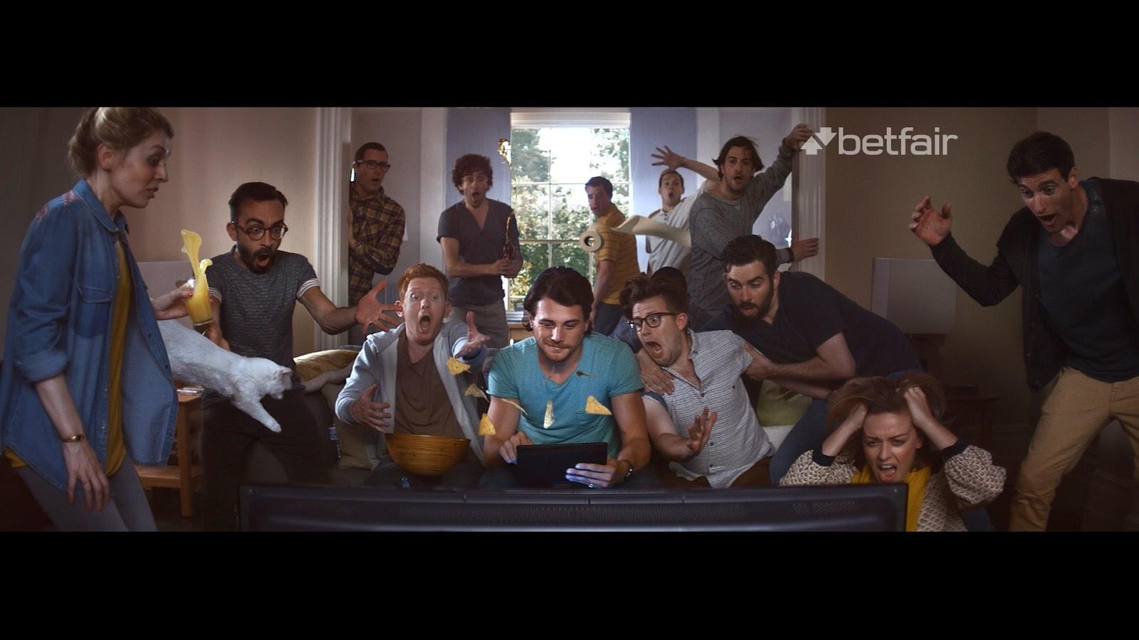 Ecco un estratto dello spot proposto da Betfair Italia in TV