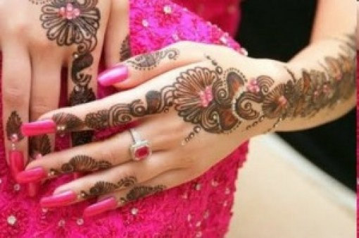 Hand Mehndi Design For Eid