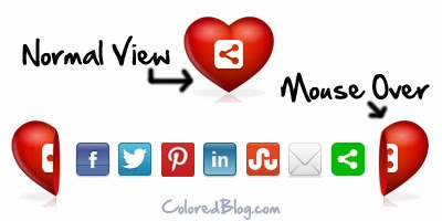 Heart Bookmarking Blogger