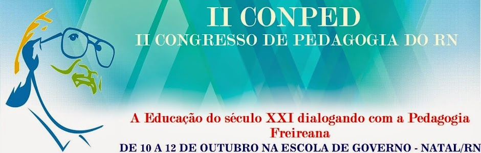 II  Congresso de Pedagogia do RN